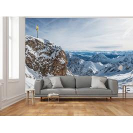 Murando DeLuxe Pohled na Alpy Rozměry (š x v) a Typ: 147x105 cm - samolepící