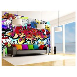 Murando DeLuxe Street art tapeta Rozměry (š x v) a Typ: 147x105 cm - samolepící