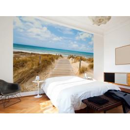 Murando DeLuxe Tapeta cesta na pláž Rozměry (š x v) a Typ: 147x105 cm - samolepící