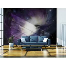Murando DeLuxe Vesmírná záře Rozměry (š x v) a Typ: 147x116 cm - samolepící