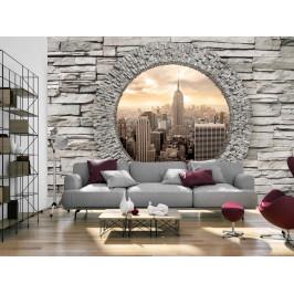 Murando DeLuxe Tajemné okno do New Yorku Rozměry (š x v) a Typ: 147x105 cm - samolepící