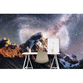 InSmile ® Tapeta Hory s noční oblohou Vel. (šířka x výška): 144 x 105 cm