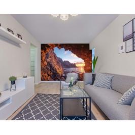 InSmile ® Tapeta Jeskyně na pobřeží Vel. (šířka x výška): 144 x 105 cm