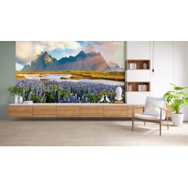 InSmile ® Tapeta Vysokohorské jezero Vel. (šířka x výška): 144 x 105 cm