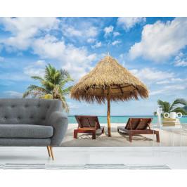 InSmile ® Tapeta Posezení na pláži Vel. (šířka x výška): 144 x 105 cm