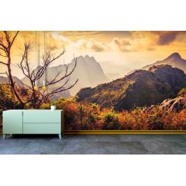 InSmile ® Tapeta Pohoří při západu Vel. (šířka x výška): 144 x 105 cm