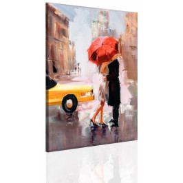 Polibek pod deštníkem (40x50 cm) - InSmile ®