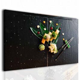 Obraz do jídelny sushi (60x40 cm) - InSmile ®