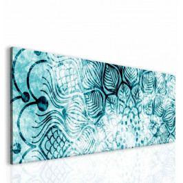 Obraz mrazivá mandala II (150x50 cm) - InSmile ®