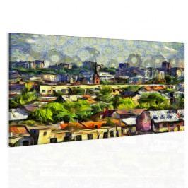Obraz smutné město (90x60 cm) - InSmile ®