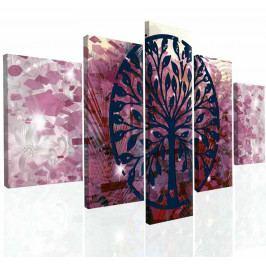 Obraz na zeď abstraktní strom VI (150x80 cm) - InSmile ®