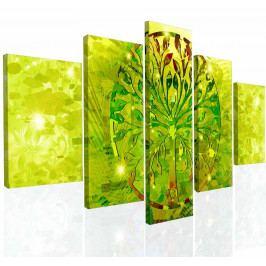 Obraz na zeď abstraktní strom V (150x80 cm) - InSmile ®