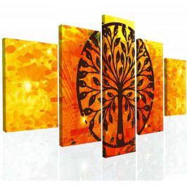 Obraz na zeď abstraktní strom IV (150x80 cm) - InSmile ®