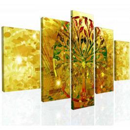 Obraz na zeď abstraktní strom III (150x80 cm) - InSmile ®