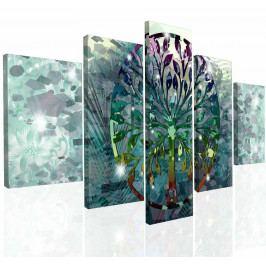 Obraz na zeď abstraktní strom (150x80 cm) - InSmile ®