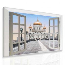 Obraz Moskva za oknem (50x40 cm) - InSmile ®