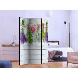 Paraván jarní inspirace I (135x172 cm) - Murando DeLuxe