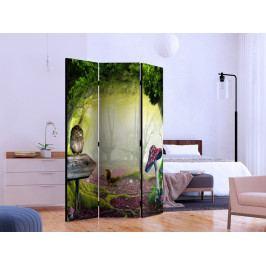 Paraván soví zákoutí (135x172 cm) - Murando DeLuxe