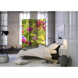 Paraván letní květy I (135x172 cm) - Murando DeLuxe