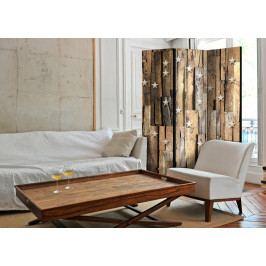Paraván dřevěné souhvězdí (135x172 cm) - Murando DeLuxe