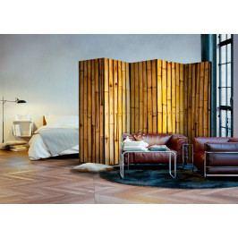 Paraván bambusová zahrada I (225x172 cm) - Murando DeLuxe
