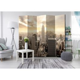 Paraván světla New Yorku I (225x172 cm) - Murando DeLuxe