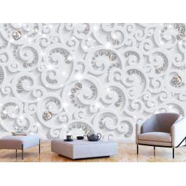 Tapeta abstraktní přepych (150x105 cm) - Murando DeLuxe