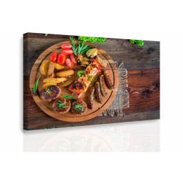 Obraz - Barbecue (90x60 cm) - InSmile ®