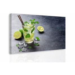 Obraz - Mochito s ledem (90x60 cm) - InSmile ®