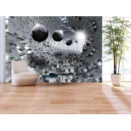 * Stříbrná skládanka (150x105 cm) - Murando DeLuxe
