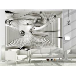 * 3D tapeta - Vířivá geometrie (150x105 cm) - Murando DeLuxe