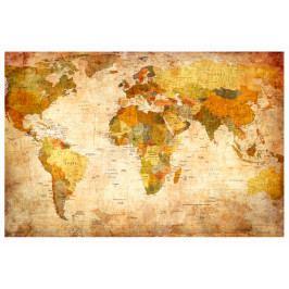 Mapa na korkové tabuli  - fantastická mapa světa (90x60 cm) - Murando DeLuxe