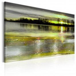 Spokojené jezero (105x70 cm) - Murando DeLuxe