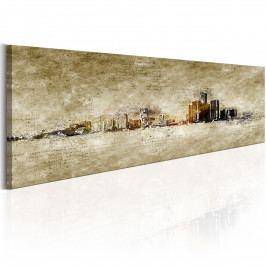 Panorama města (140x42 cm) - Murando DeLuxe