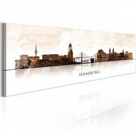 Čokoládový Hamburg (140x42 cm) - Murando DeLuxe
