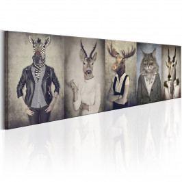 Zvířata v oblečení (140x42 cm) - Murando DeLuxe