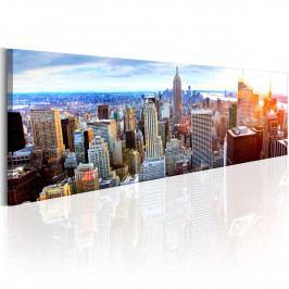 Americká metropole (140x42 cm) - Murando DeLuxe