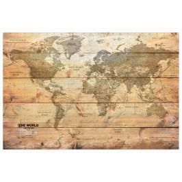 Mapa na korkové tabuli - tabule (90x60 cm) - Murando DeLuxe