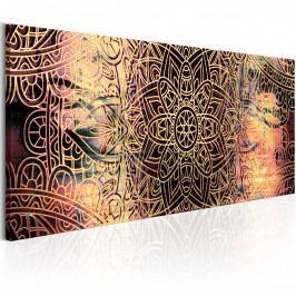 Mandala - poezie (135x45 cm) - Murando DeLuxe