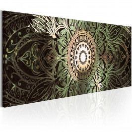 Zelená mandala (135x45 cm) - Murando DeLuxe