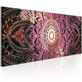 Rubinová mandala (135x45 cm) - Murando DeLuxe