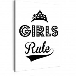 Girls Rule (30x40 cm) - Murando DeLuxe