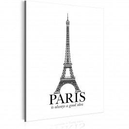 Tajemná Paříž (30x40 cm) - Murando DeLuxe