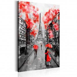 Paříž - místo zamilovaných (60x90 cm) - Murando DeLuxe
