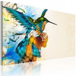 Ptačí píseň (90x60 cm) - Murando DeLuxe