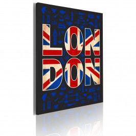 Obraz - London (50x70 cm) - Murando DeLuxe