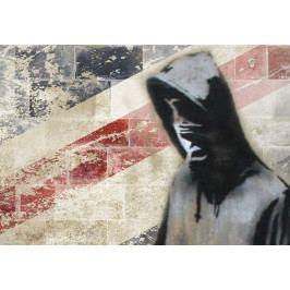 Vícedílný obraz - Londýn I. (150x60 cm) - Bimago