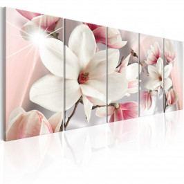 Vícedílný obraz - krásná magnólie (150x60 cm) - Murando DeLuxe