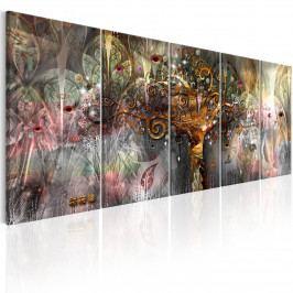 Vícedílný obraz - země štěstí (150x60 cm) - Murando DeLuxe