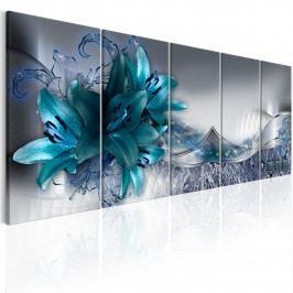 Obraz - abstraktní lilie III (150x60 cm) - Murando DeLuxe